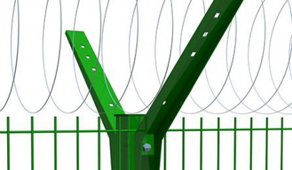 Крепеж и фурнитура к заборам из 3D сетки