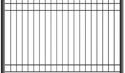 Сварной забор 1501, 2001