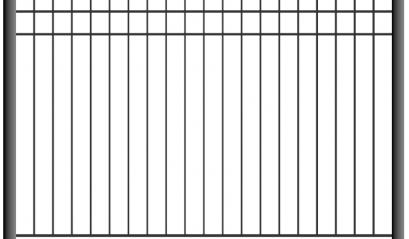 Сварной забор 1502, 2002
