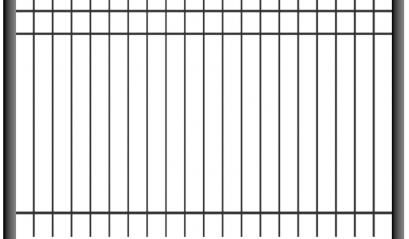 Сварной стальной забор 1503, 2003