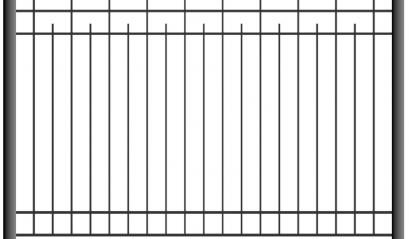 Cварной забор 1504, 2004
