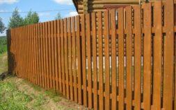 """Деревянный забор """"Классический"""""""